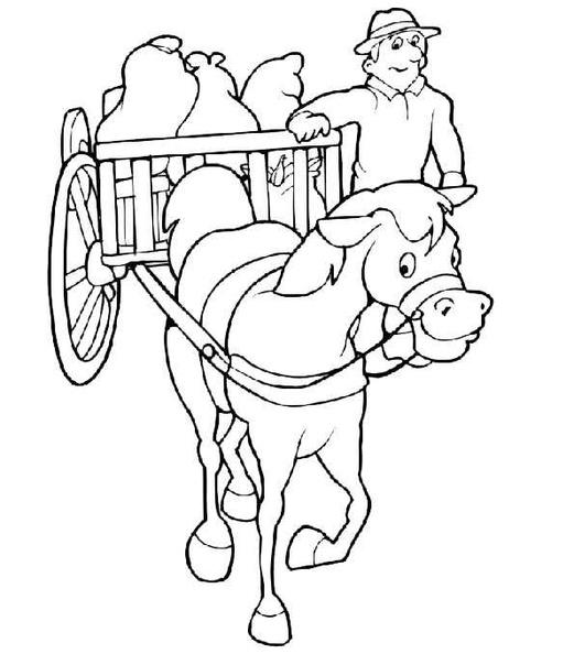 ausmalbilder pferde 20  ausmalbilderpferde1020