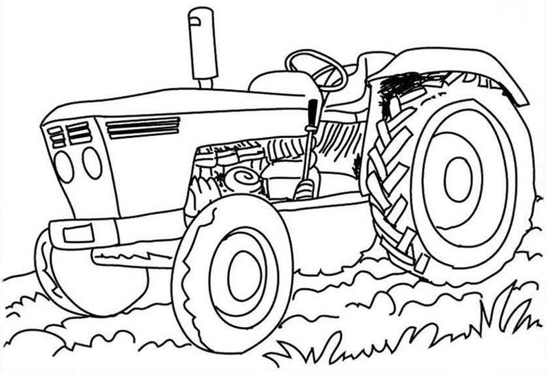 ausmalbilder traktor 5  ausmalbilder kostenlos