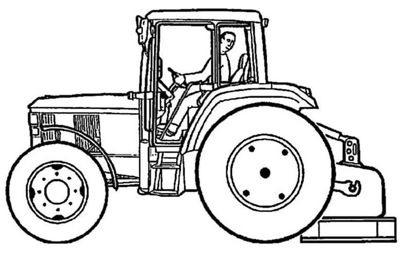 Ausmalbilder Traktor 7 Ausmalbilder Kostenlos