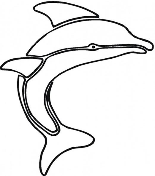 ausmalbilder delphin 4  ausmalbilder kostenlos
