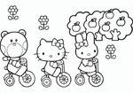 Ausmalbilder Hello Kitty 6