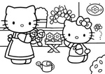 Ausmalbilder Hello Kitty 8