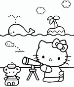 Ausmalbilder Hello Kitty 12