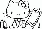 Ausmalbilder Hello Kitty 13