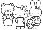 Ausmalbilder Hello Kitty 14