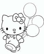 Ausmalbilder Hello Kitty 15