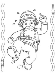 Feuerwehrmann Sam Ausmalbilder Kostenlos