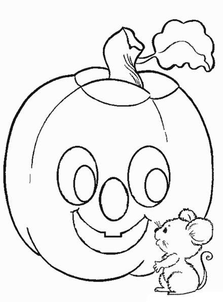 ausmalbilder halloween kürbis 8  halloweenkuerbis1008