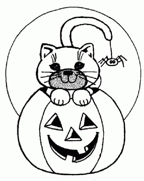 ausmalbilder halloween kürbis 11  ausmalbilder kostenlos