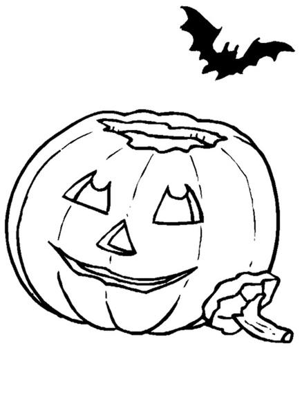 ausmalbilder halloween kürbis 13  ausmalbilder kostenlos