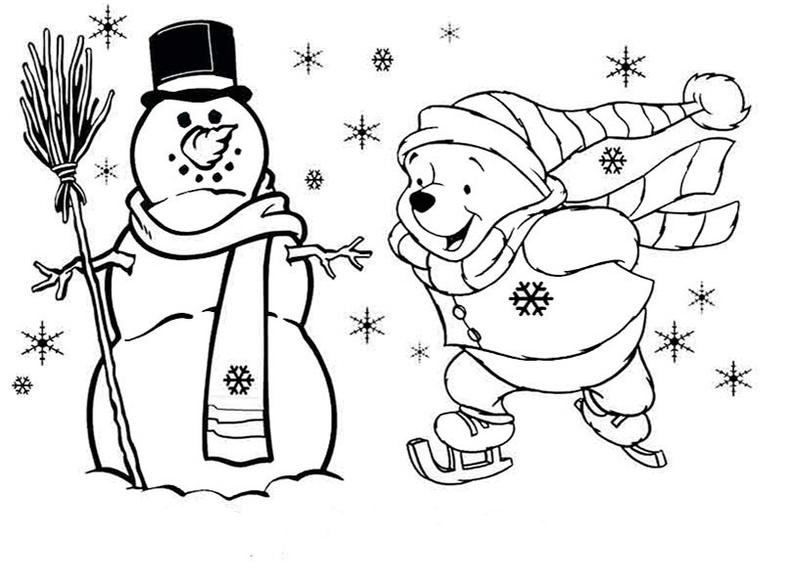 ausmalbilder weihnachten 7  weihnachten1007