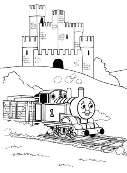ausmalbilder thomas die lokomotive 3  ausmalbilder kostenlos