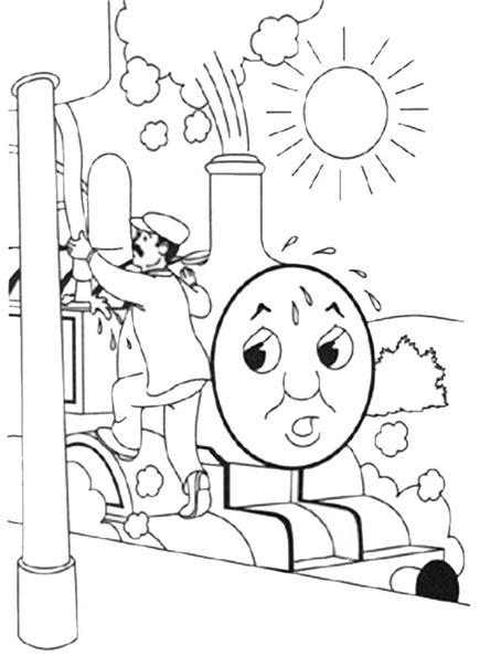 ausmalbilder thomas die lokomotive 6  ausmalbilder kostenlos