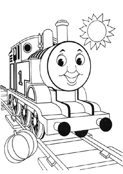 ausmalbilder thomas die lokomotive 8  ausmalbilder kostenlos