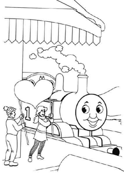 ausmalbilder thomas die lokomotive 9  ausmalbilder kostenlos