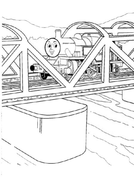 ausmalbilder thomas die lokomotive 10  ausmalbilder kostenlos