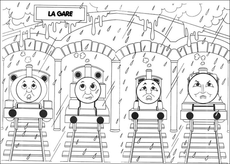 ausmalbilder thomas die lokomotive 12  ausmalbilder kostenlos