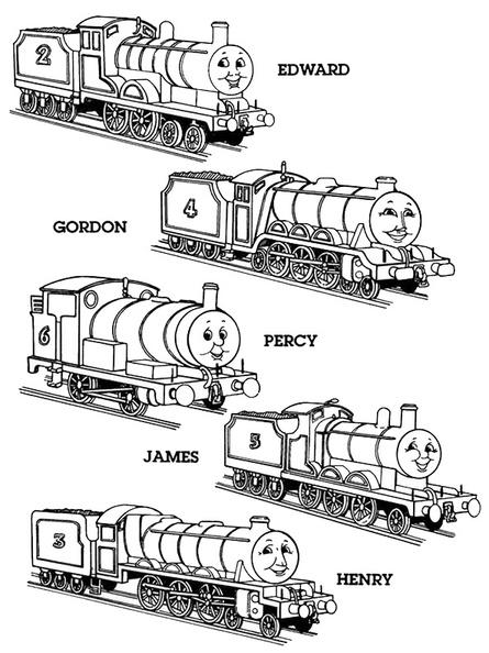 ausmalbilder thomas die lokomotive 21  ausmalbilder kostenlos