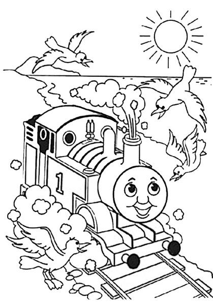 ausmalbilder thomas die lokomotive 24  ausmalbilder kostenlos
