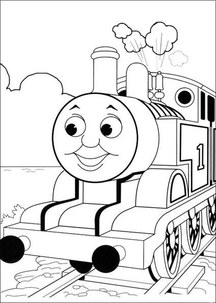 ausmalbilder thomas die lokomotive 28  ausmalbilder kostenlos