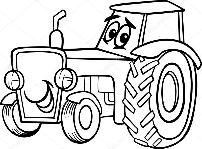 traktor ausmalbilder  traktor 1 ausmalbilder zum