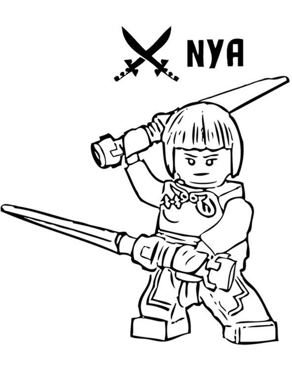 ausmalbilder ninjago drache  indone